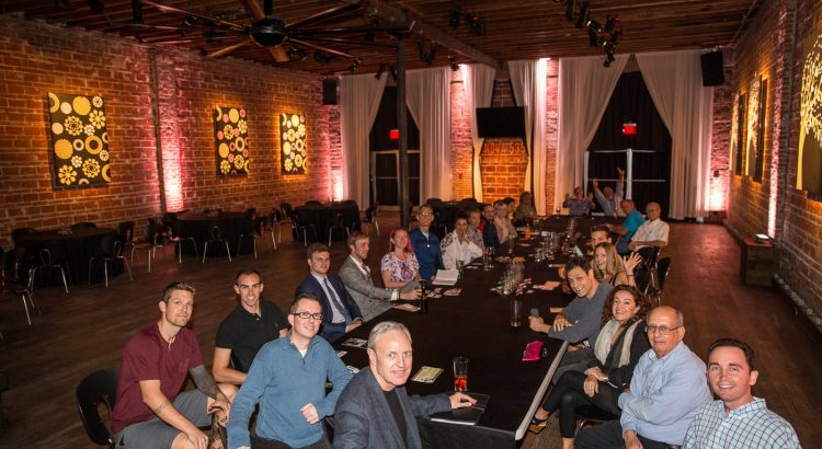 Octopus bacon at the Entrepreneur Social Club at NOVA 535 in DTSP St. Pete Florida