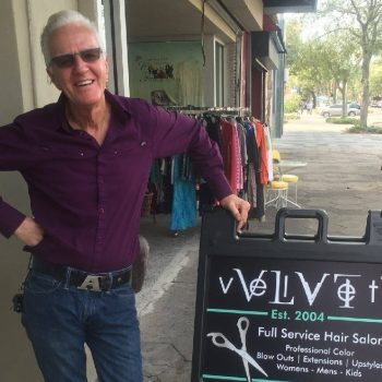 Albie Mulcahy VLVT Salon photo
