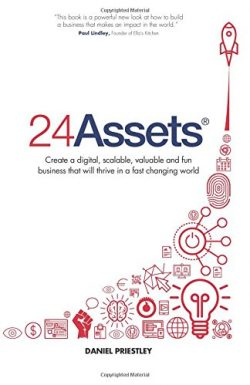 24 Assets by Daniel Priestley Book Cover