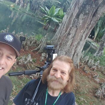 Michael S Novilla and Sergio Rossetti Morosini Rio Botanical Gardens
