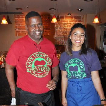 Chef Ray Milton of Ray's Vegan Soul Food photo