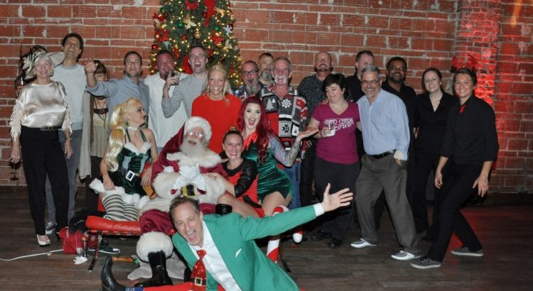 Friends and Family Gather for Nova Noel 10 on Thursday December 28, 2017 at historic DTSP venue NOVA 535 for the Entrepreneur Social Club annual Holiday Party Nova Noel in downtown St. Pete