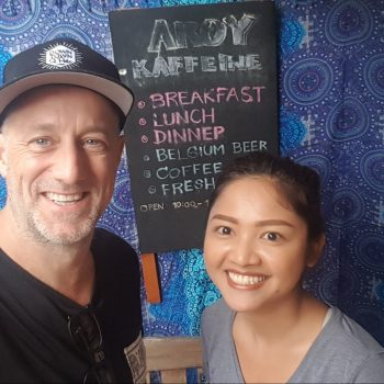 Phi Phi Michael S Novilla Mentoring Jaruwan Yosrungrueng in Aroy Cafe