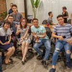 Founder Michael Scott Novilla and his Entrepreneur Social Club returns to Toong Coworking Hanoi Vietnam