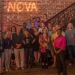 2019 03-14 ESC Group Photo on stairs NOVA 535