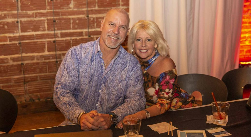 Paul Menegazzi and Elizabeth Olguin