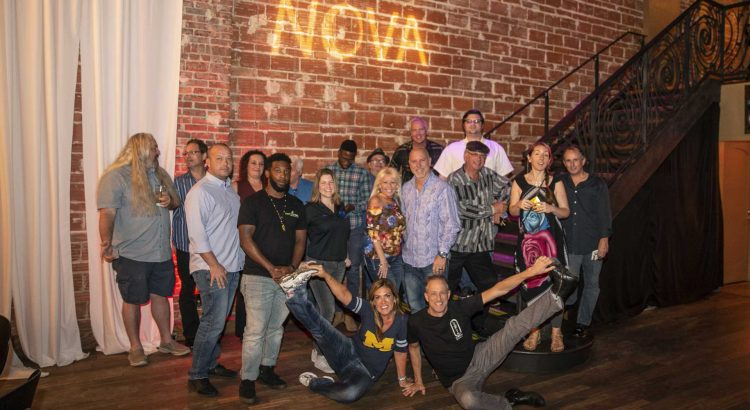 Entrepreneur Social Club downtown St. Pete at venue NOVA 535 discusses Leaving Our Legacy