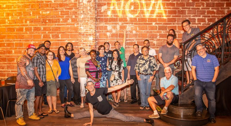 Falling towards 2020 with the Entrepreneur Social Club at historic downtown St. Pete venue NOVA 535