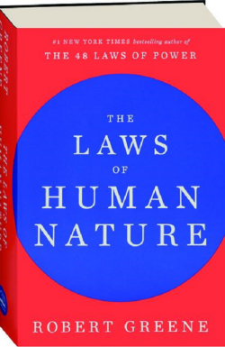 Laws of Human Nature - Robert Greene -book cover